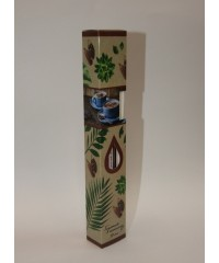 D-1 - Набор для доливки аромамасла в диффузор в комплекте с ротанговыми палочками, 90 мл
