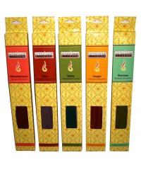 NR 1395 - Тибетские аромапалочки-масала 20 шт. длина 25 см.