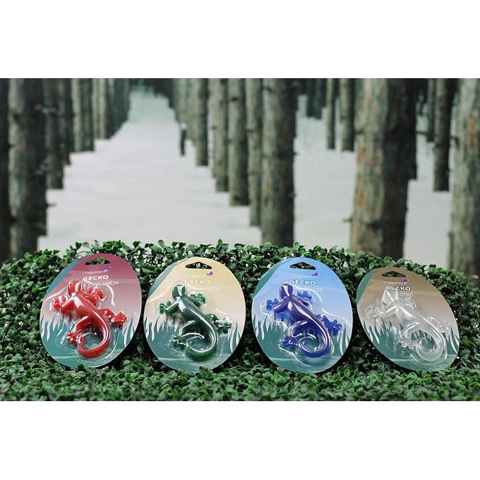 Автомобильные ароматизаторы Индокитай Ароматизатор для автомобиля Геккон с пласт.клипсой, 4 аромата - фото 5