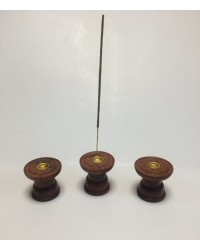 Н-11 - Подставка для палочек и конусов круглая, диаметр 6 см, высота 5,5 см