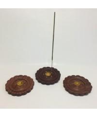 Н-16 - Подставка для палочек и конусов круглая в виде цветка, диаметр 10 см