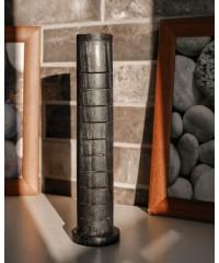 Н-20 - Подставка-пенал для аромапалочек и конусов с резьбой,вертикальная, цветная, высота 32 см