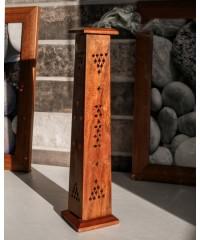 Н-9 - Подставка-пенал вертикальная для аромапалочек и конусов в виде трапеции